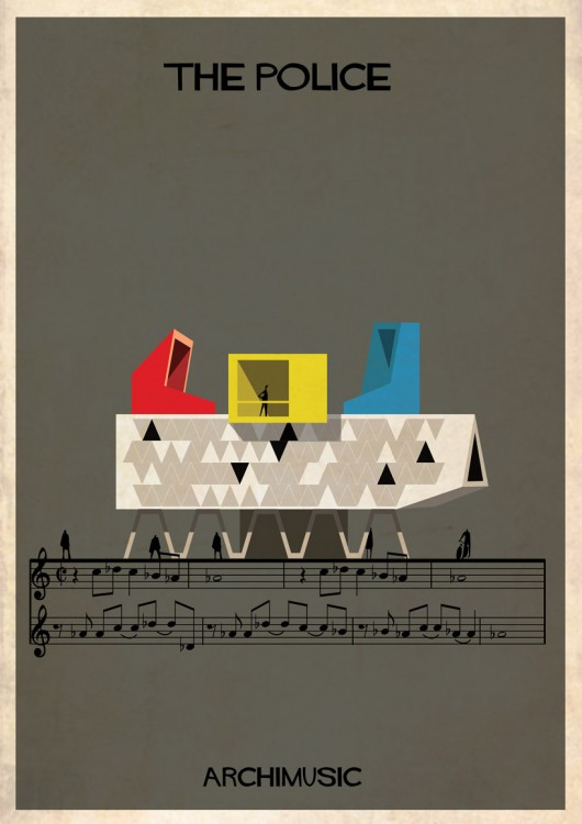 539f6935c07a80d634000005_archimusic-illustrations-turn-music-into-architecture_06_the-police-01-530x750