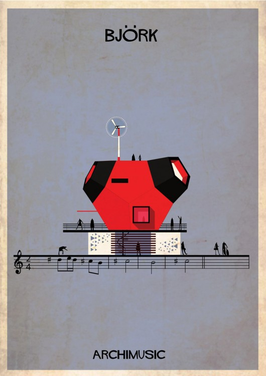 539f6970c07a80d63400000a_archimusic-illustrations-turn-music-into-architecture_015_bjork-01-530x750
